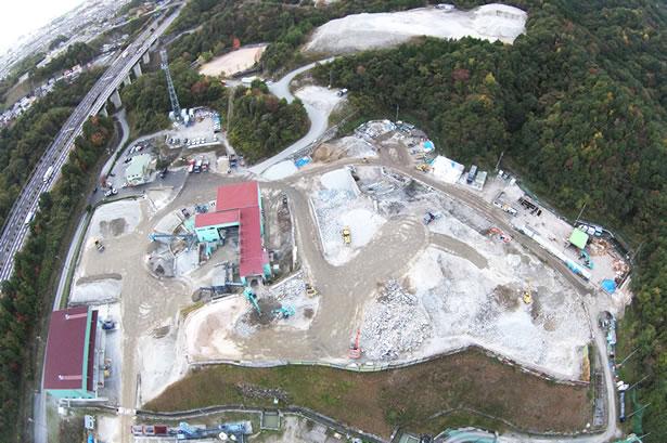 山陽工営株式会社上空からの写真